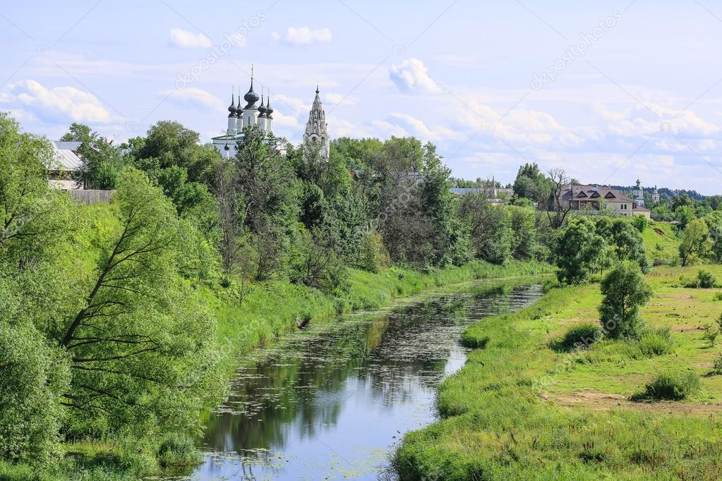 Russian Old historic town Suzdal