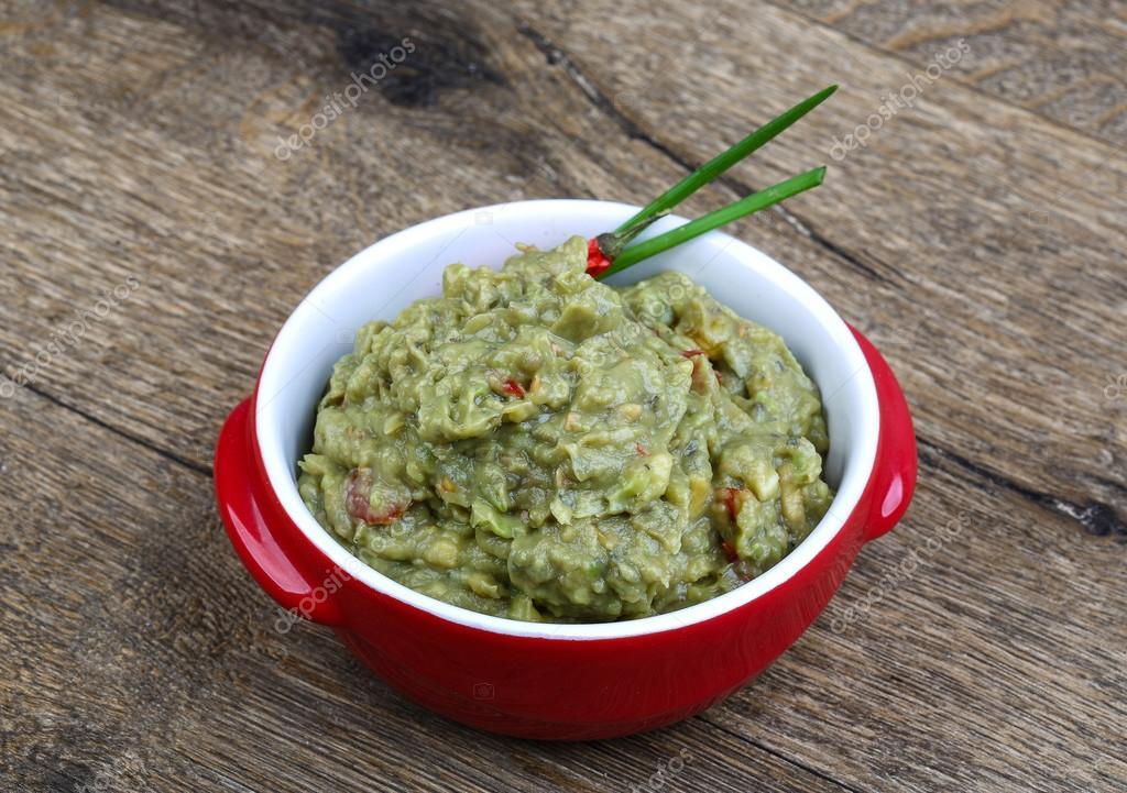 Potrawy Meksykanskie Guacamole Zdjecie Stockowe C Andreyst 96808878