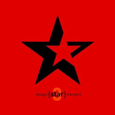 Abstract star logo.