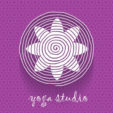 Flower shaped logotype