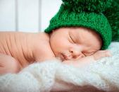 Photo Baby boy sleeps
