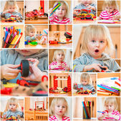 Fotografie holčička ve školce