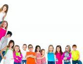 gruppo di bambini sorridenti
