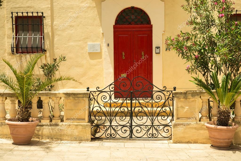 Traditional Exterior Door In Malta Stock Photo Tan4ikk 74660769