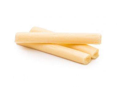 String cheese  isolated