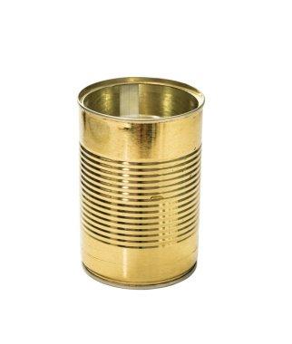 golden empty jar