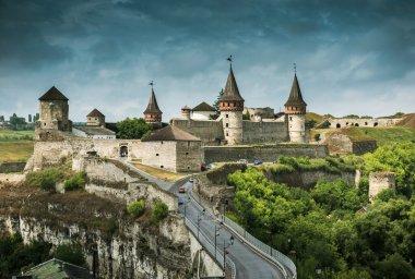 medieval castle fortress in Kamenetz-Podolsk