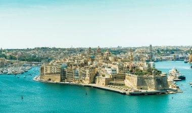 panoramic view on Valletta