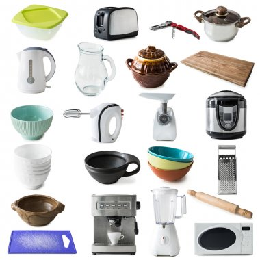 different kinds of kitchen appliances
