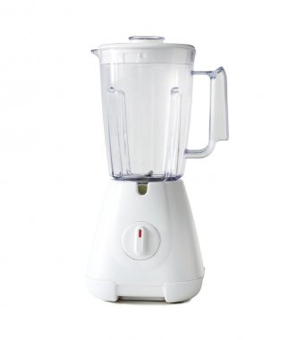 electric blender object on white