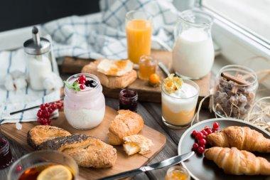 fresh summer  breakfast
