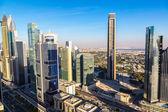 Fotografie centru Dubaje a skysrapers