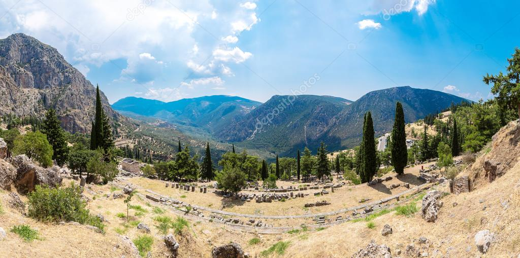 Athenian treasury in Delphi