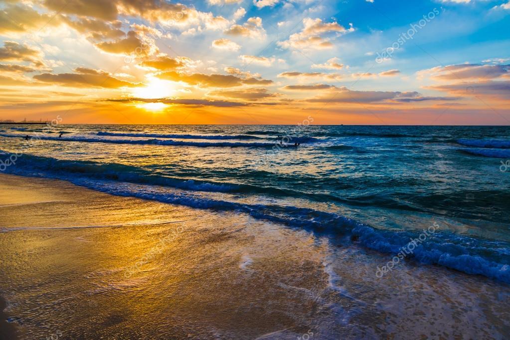 Dubai sea and beach