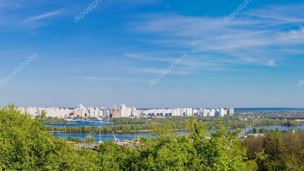 Cityscape of Kiev
