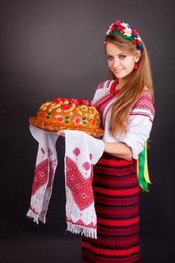 Women in ukrainian clothes