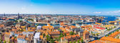 Fotografie View of Copenhagen panorama