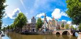 starý kostel v Amsterdamu