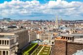 Panoráma města bruselské architektury