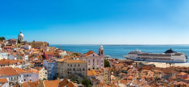 Panorama of beautiful Lisbon