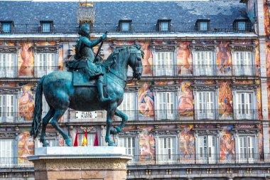 Statue of Philip III  in Madrid