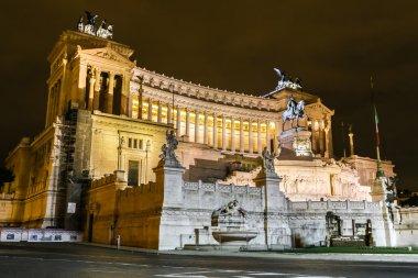 Emmanuel II monument  in Rome
