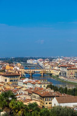 Ponte Vecchio and Florence panorama