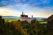 Fotografie Schloss Neuschwanstein in Deutschland