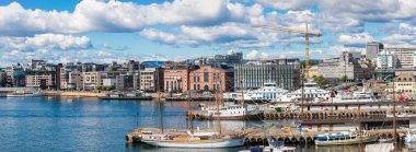 Oslo skyline and harbor