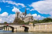 Seinu a Notre Dame de Paris