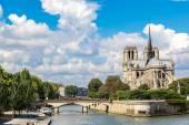 Seine a Notre Dame de Paris
