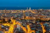 Fotografie view of Barcelona from Park Guell