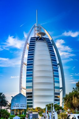 Burj Al Arab is a luxury hotel
