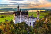 Schloss Neuschwanstein in Deutschland