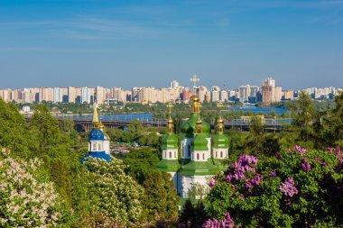 Panorama of city Kiev, Ukraine