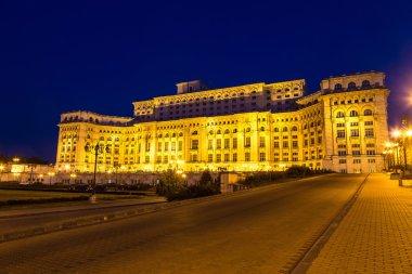 Parliament in Bucharest, Romania
