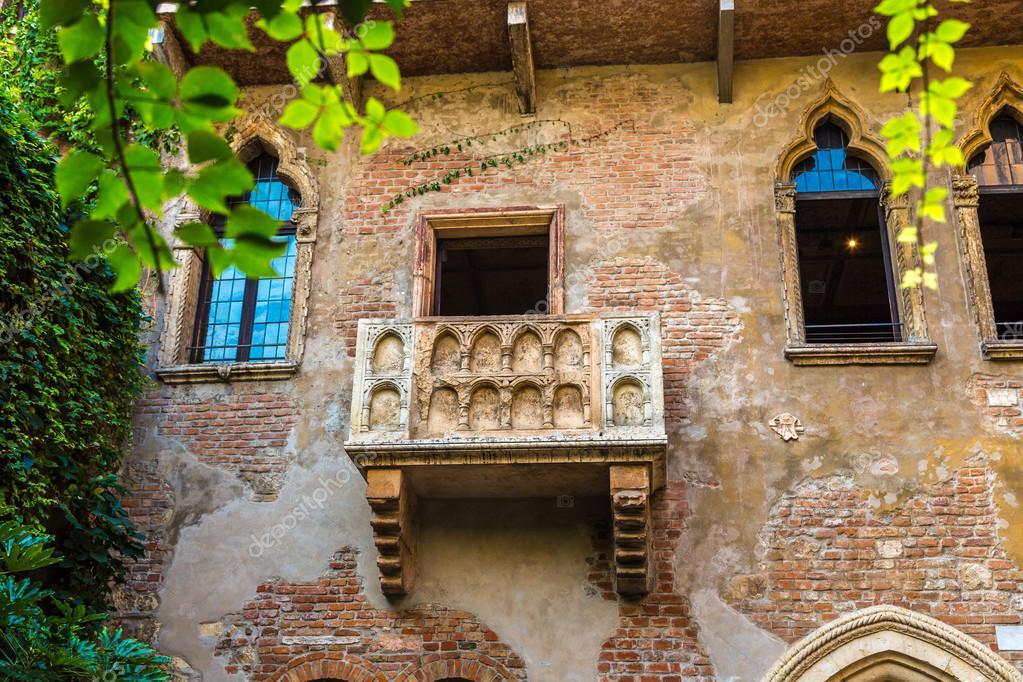 Balkon Von Romeo Und Julia In Verona Stockfoto C Bloodua 87692140