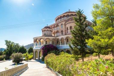 Saint Nektarios church on Aegina island