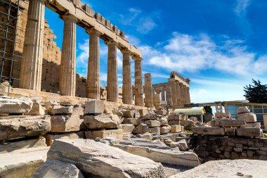 Parthenon temple on Acropolis in Athens