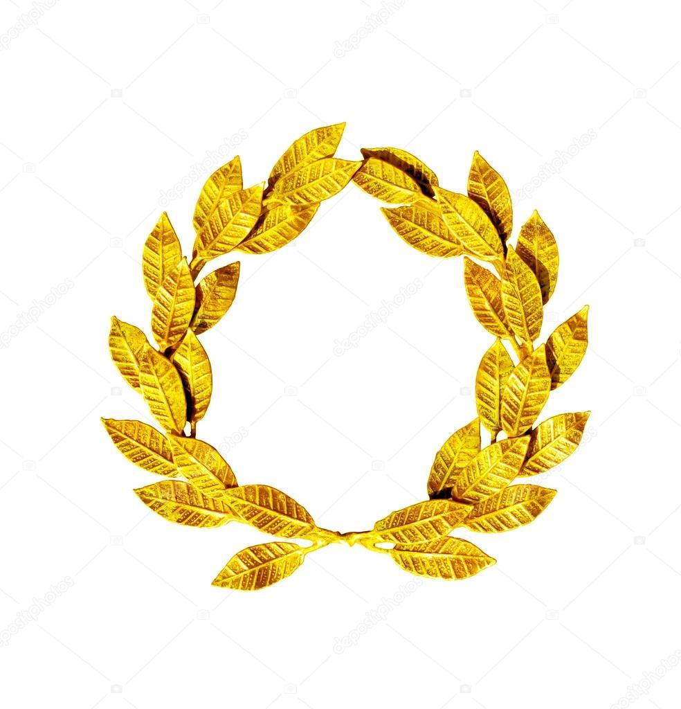Zlatý vavřínový věnec — Stock Fotografie © Leonardi  67885387 4b4da905d5