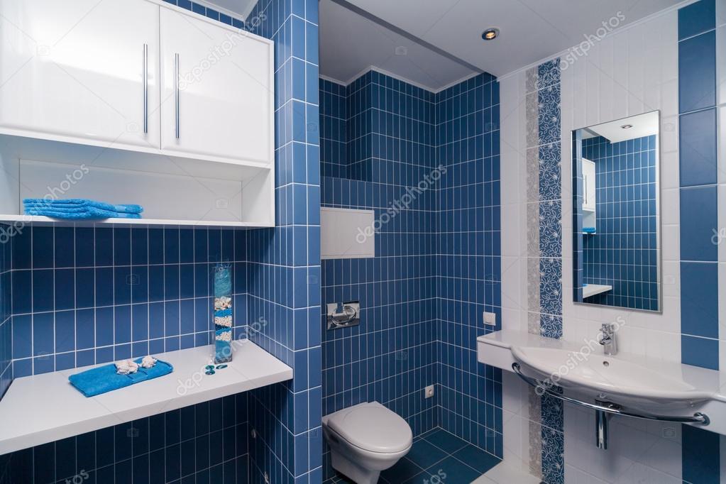 moderno bagno blu ? foto stock © gerasimov #64250133 - Bagni Moderni Blu