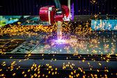 Fotografie CNC laserové řezání plazmou kovů, moderní průmyslové technologie