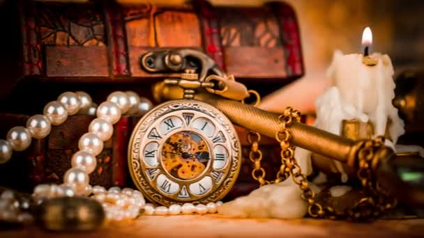 starožitné kapesní hodinky