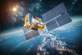 Fényképek műholdat bolygó Föld felett