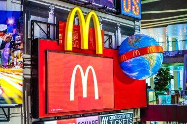 McDonald's Corporation logo.
