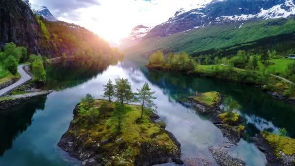 Krásná příroda Norsko.