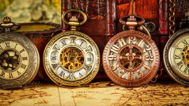 Vintage starožitné kapesní hodinky