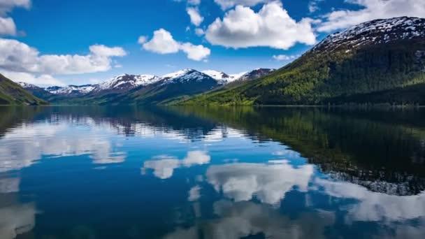 Norvégia gyönyörű természet.