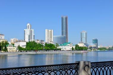 Yekaterinburg downtown