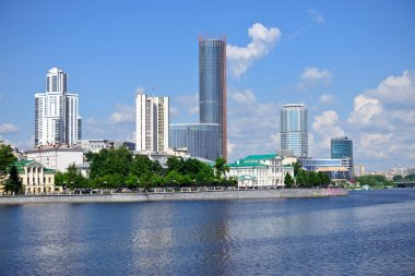 Yekaterinburg downtown